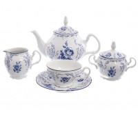 Бернадотт 4074 сервиз чайный на 6 персон из 15-ти предметов