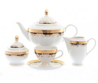 Тхун Кристина Кобальт чайный сервиз на 6 персон 15 предметов