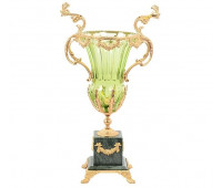 Rosaperla  Зеленая ваза для цветов 33см