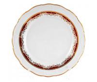 Мария Луиза Лилия Красная набор тарелок 27см 6шт